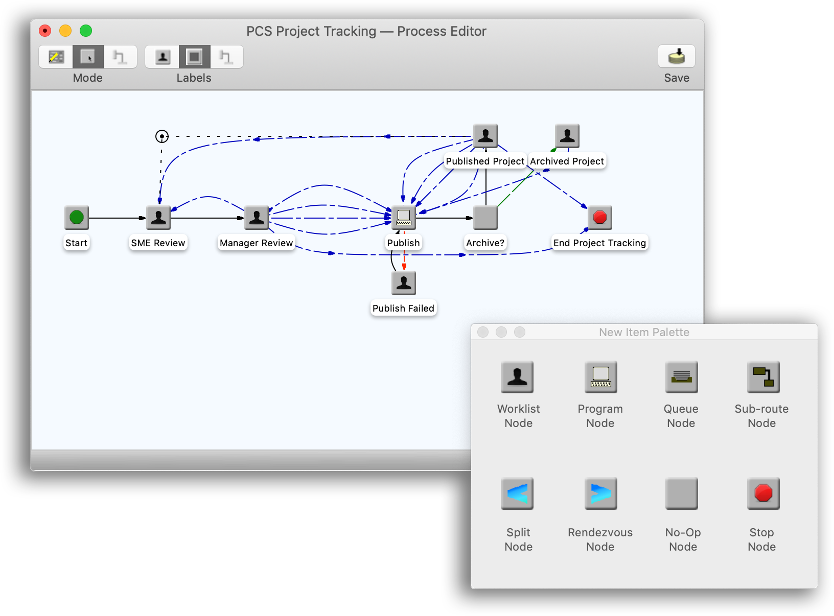 Workflow automation solutions Mac screenshot