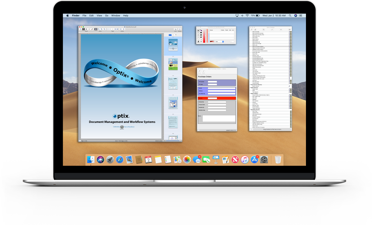 Document management and capture solutions for Mac