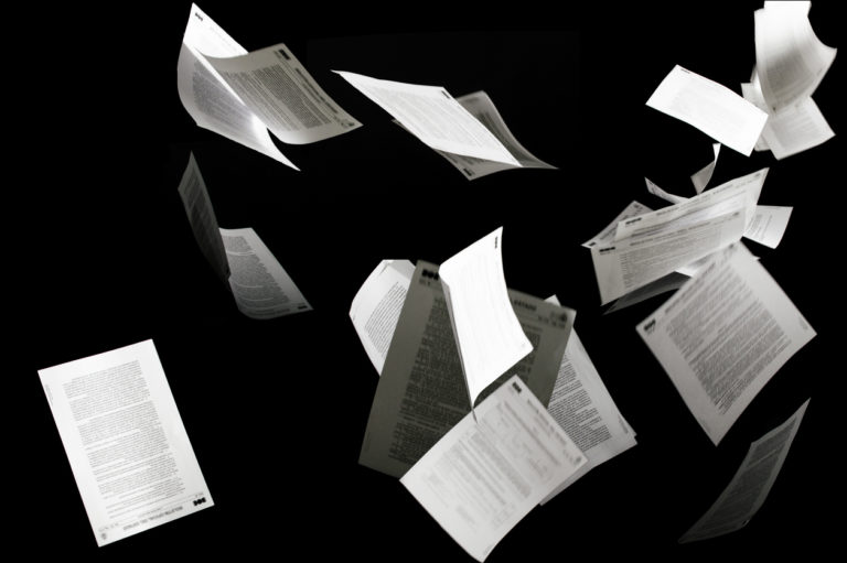 Disadvantages of paper documents